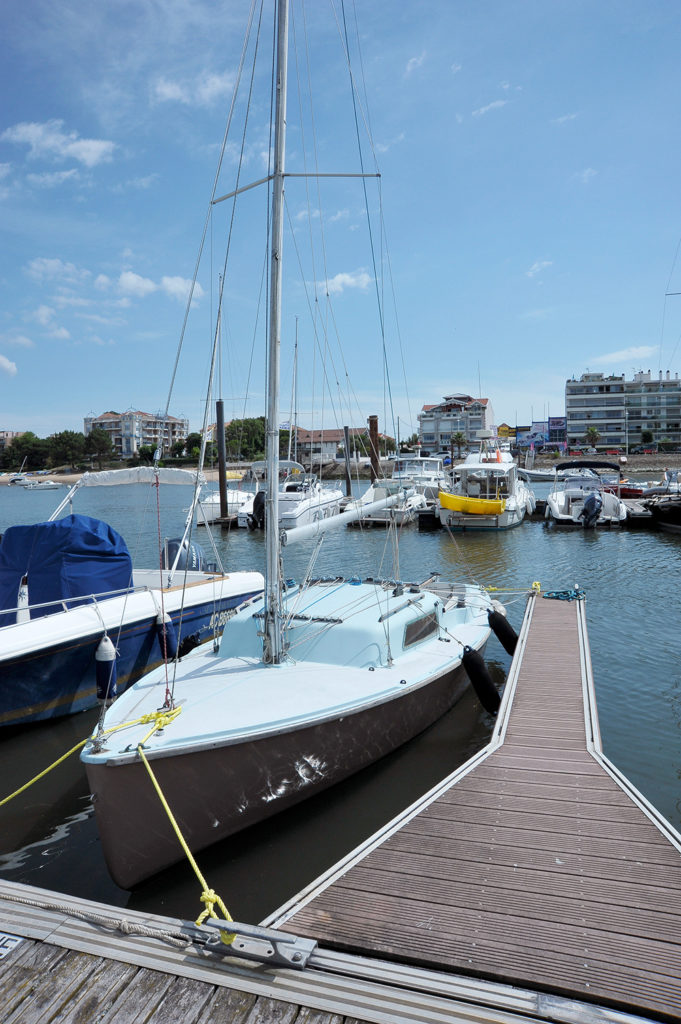 discover our yacht activoile location on arcachon